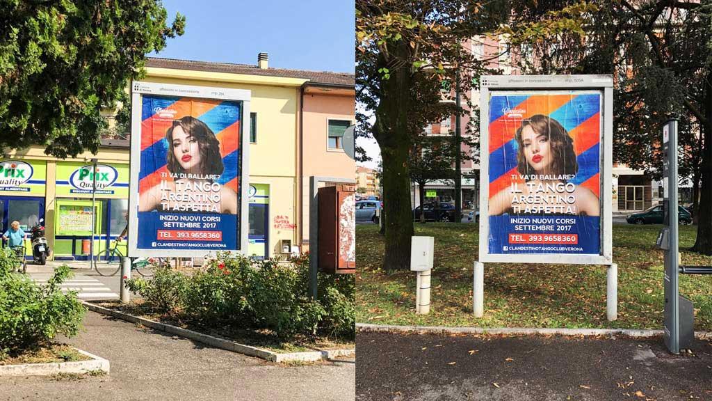 Spazi pubblicitari e cartellonistica