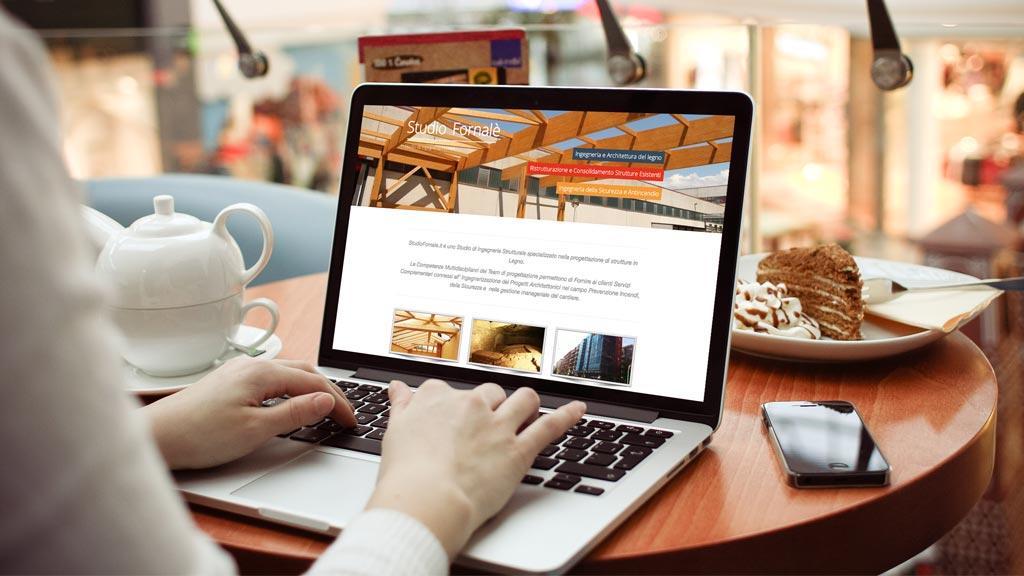 Web Design, Sito Web Studio Fornalè