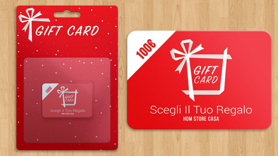 Gift card intratto