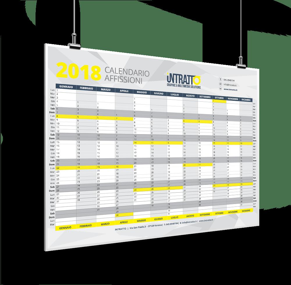 calendario affissioni