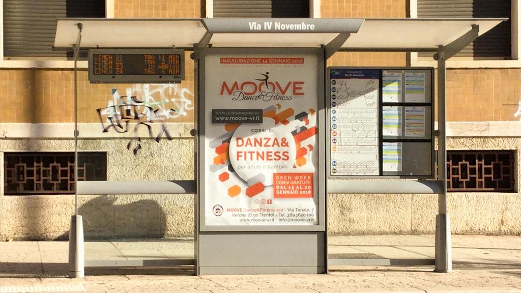 CAMPAGNA PUBBLICITARIA PER MOOVE DANCE