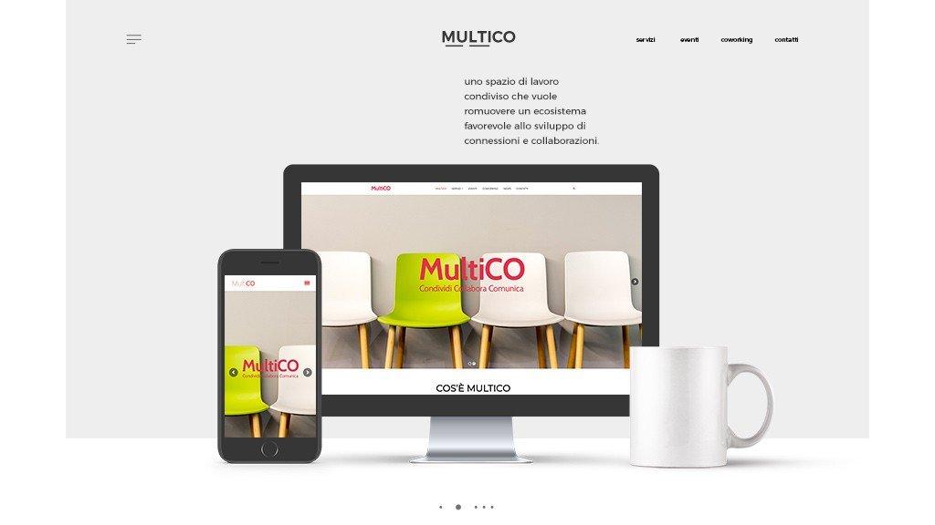 multico web sito mobile dextop