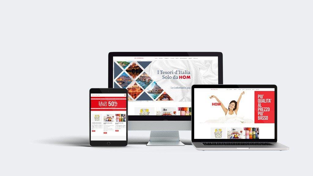 sito homstorecasa dextop web design