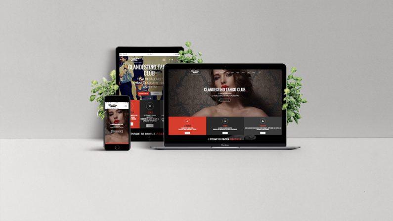 Clandestino sito dextop mobile tablet