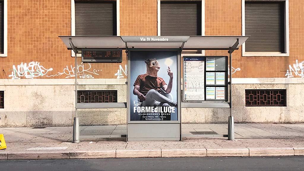 CAMPAGNA PUBBLICITARIA FORME DI LUCE