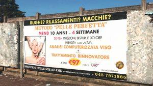 villafranca maxi formato affissioni pubblicitarie outdoor
