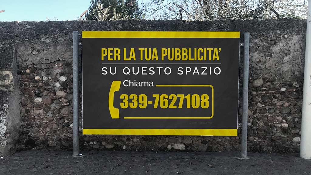 affissioni pubblicitarie a villafaranca INTRATTO