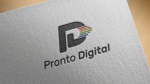 prontodigital logo design grafica