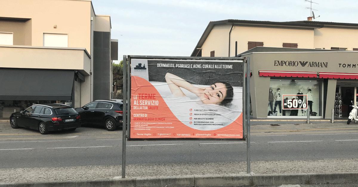 Affissioni Pubblicitari Lago di Garda